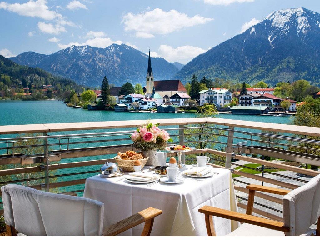 Althoff Seehotel Überfahrt am Tegernsee